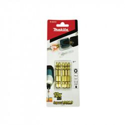 Blíster de 5 puntas PZ2 Impact Gold + Mag Boost Makita