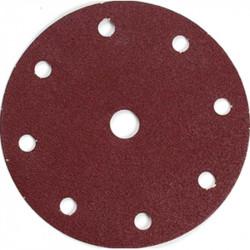 Disco de lija perforado con velcro G40 10pcs Makita