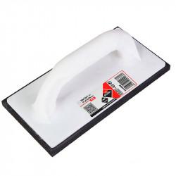 Llana de goma para juntas PRO 22,5x10x1,5 cm. con lámina Rubi