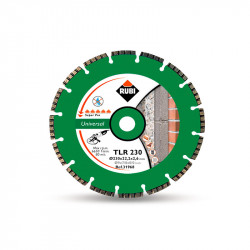 Disco diamante general obra TURBO LASER TLR-230 SUPERPRO Rubi