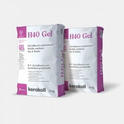 H40 Gel 5 y 25Kg Kerakoll.