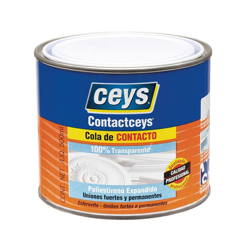 Contactceys Poliestireno Expandido Transparente 1/2 L Ceys.