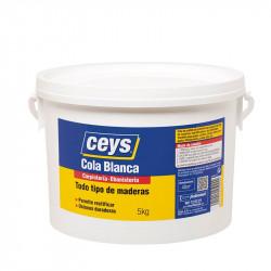 Cola Blanca Madera Bote Ba 5 Kg. Ceys.