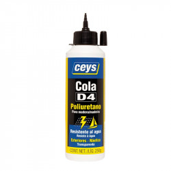 Cola D4 Poliuretano Biberón 250 gr. Ceys.