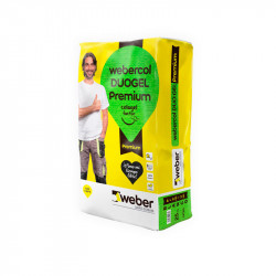 Webercol Duogel Premium 25Kg.