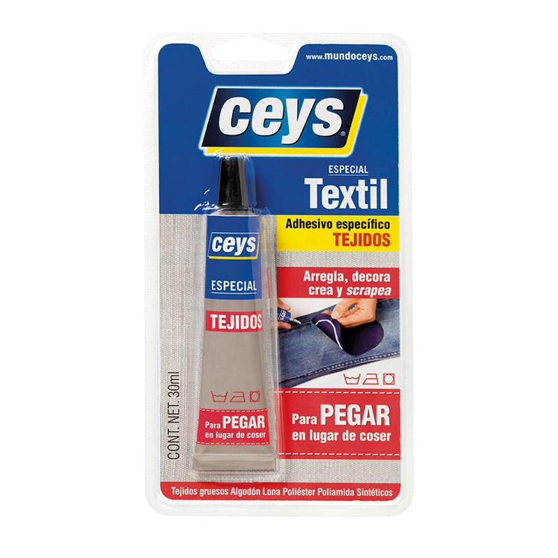 Textil Blíster 30 ml. Ceys.