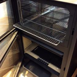 Estufa de leña con horno modelo Arce de Hergom