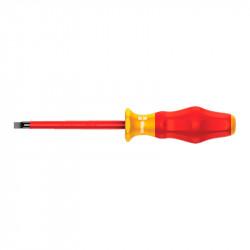Destornillador Plano Aislado VDE 1.2X6.5X150mm Wera