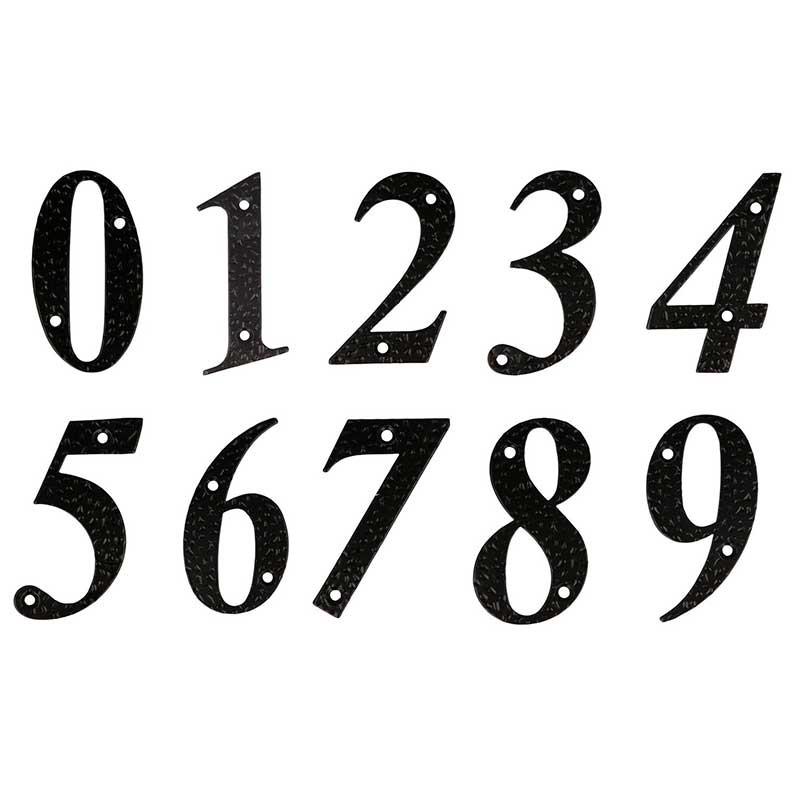 Números Negros 100 x 65 mm. Amig