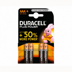 Pila Alcaline Duracell Power Plus Bresme