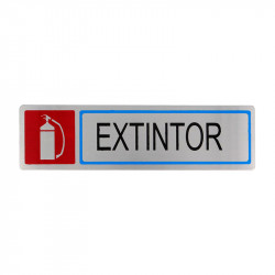 """Placa informativa """"Extintor"""" Modelo 64. Amig"""