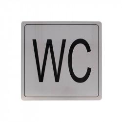 """Placa Símbolo """"WC"""" Modelo 108. Amig"""