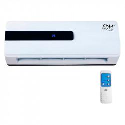 Calefactor de Pared Split con mando 1000/2000w. Edm