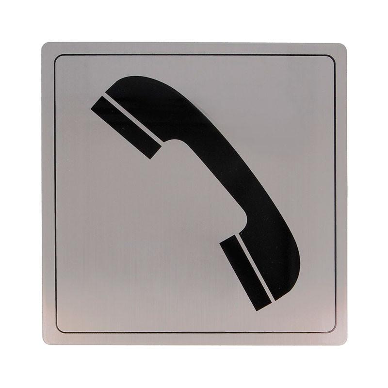 "Placa símbolo ""Teléfono"" Modelo 105. Amig"