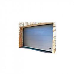 Burlete Puerta Aluminio Garaje Caucho 2,50 mt Bresme