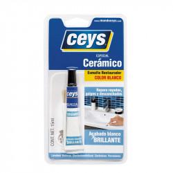 Restaurador Cerámico Blanco 15 ml. Ceys.