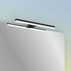 Aplique LED AKIRA NEGRA MATE de 300 mm (8W)