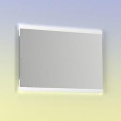 Espejo de baño rectangular HIKARI 100x70 cms con Luz neutra LED integrada en el espejo.