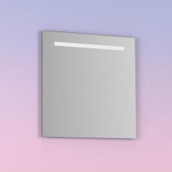 Espejo de baño NOMI 80x80 cms con de  Luz neutra LED integrada en el espejo y sistema antivaho.