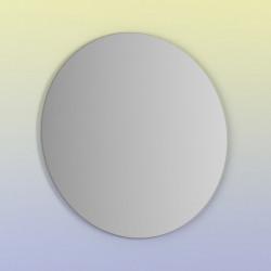 Espejo de baño redondo MIKU 90 cms. De Luna circular pulida de 4mm.