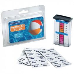 Estuche analizador de coro libre y pH Pooltester AstraPool (pastillas)