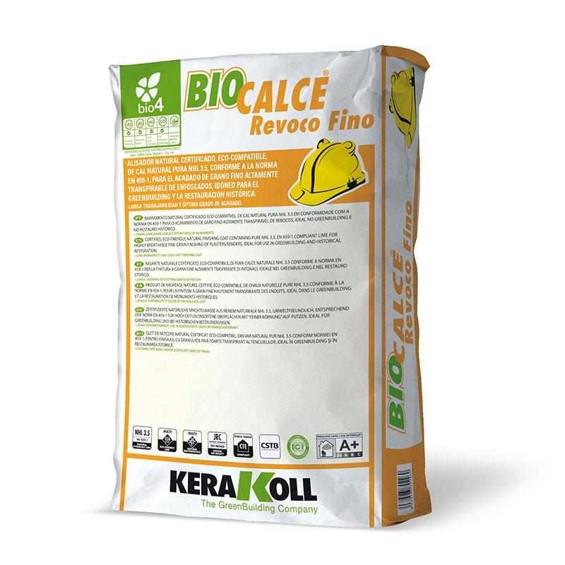 Biocalce Revoco Fino 25Kg. Kerakoll