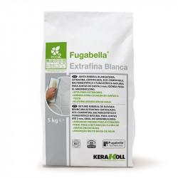 Fugabella Extrafina Blanca 5Kg. Kerakoll