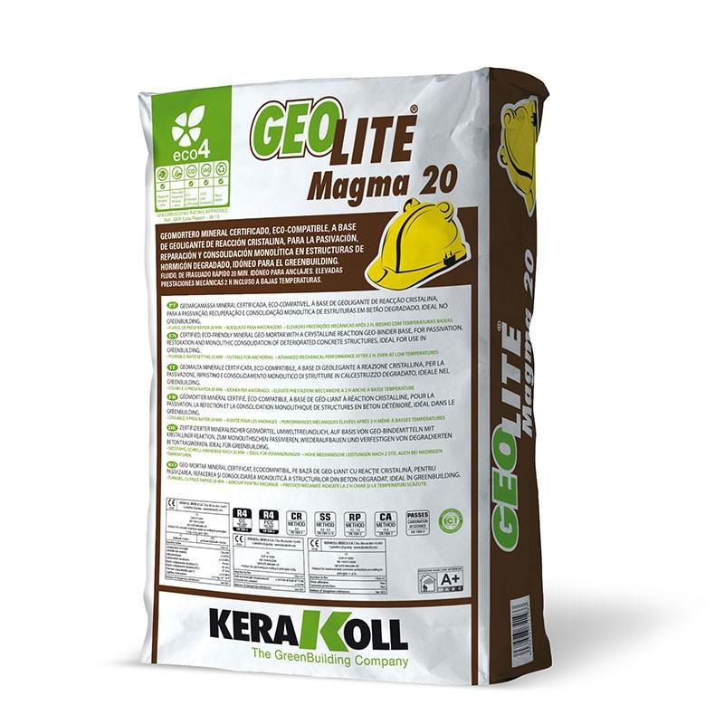 Geolite Magma 20 Eco-compatible 25Kg. Kerakoll