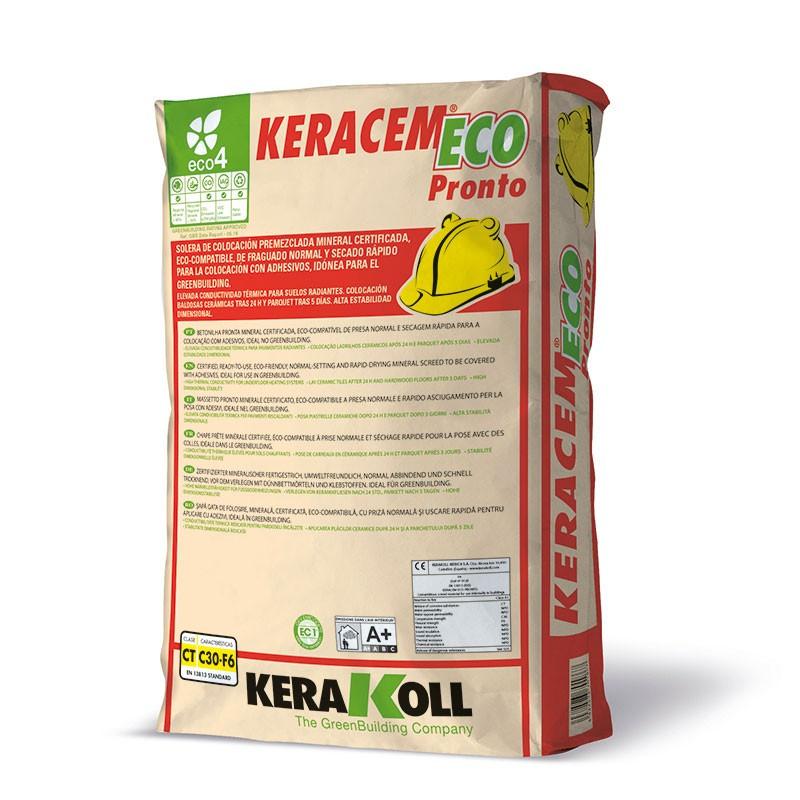 Keracem Eco Pronto 30Kg. Kerakoll