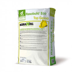 Rasobuild Eco Top Gesso Blanco 20Kg. Kerakoll
