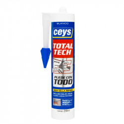 Total Tech Blanco Cartucho 290 ml. Ceys.