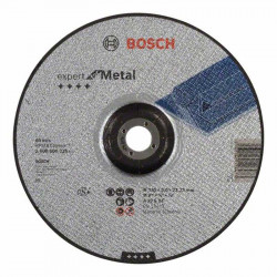 Disco de corte acodado Bosch Expert for Metal Ø230mm.