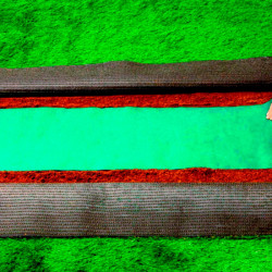 Banda Cesped Artificial 30 cm. x 10 mt. Ceys.