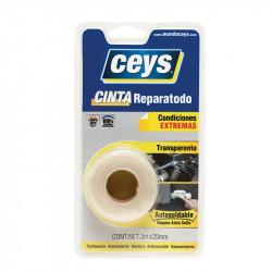 Cinta Reparatodo 3 mt x 25 mm. Ceys.