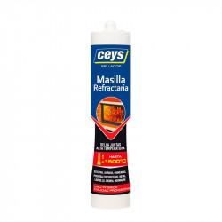 Masilla Refractaria Cartucho 310 ml. Ceys.