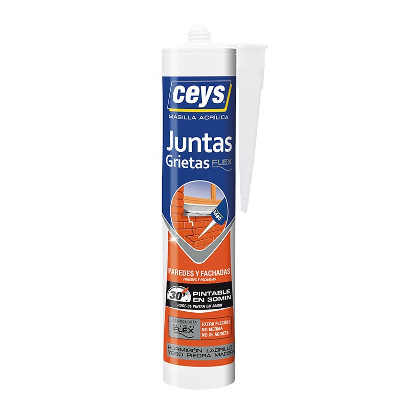 Sellaceys grietas Pintado Xpress 280 ml. Blanco. Ceys.
