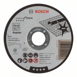 Disco corte recto rápido Bosch Expert for Inox - Rápido Ø115mm.