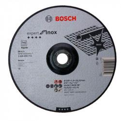 Disco de corte acodado Bosch Expert for Inox - Rápido Ø230mm.