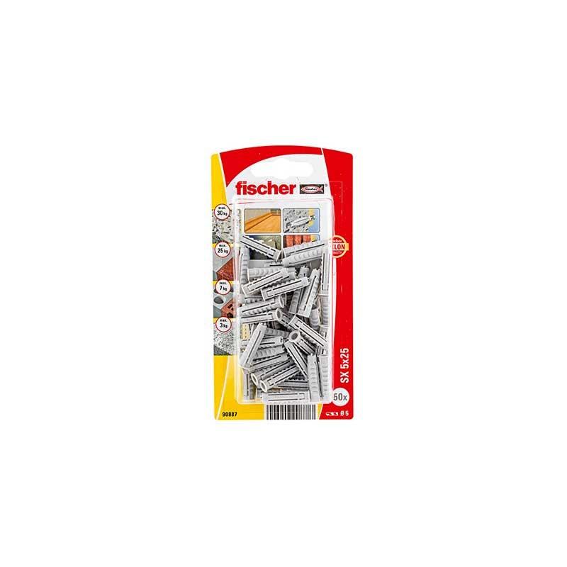 Taco de expansión SX 5 x 25 K Fischer