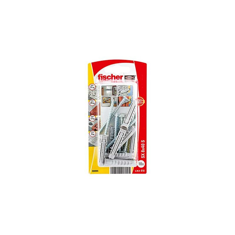 Taco de expansión SX 8 x 40 SK Fischer