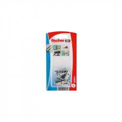 Taco de fijación metálica para cartón-yeso GKM S K Fischer