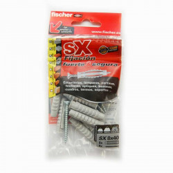 Taco de expansión SX 8 x 40 S tornillo Fischer