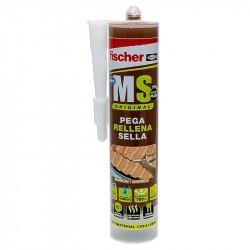 Sellante-adhesivo MS Marrón Fischer