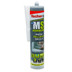 Sellante-adhesivo MS PLUS Gris Fischer