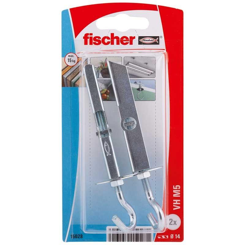 Taco de vuelco VH M5 con gancho Fischer