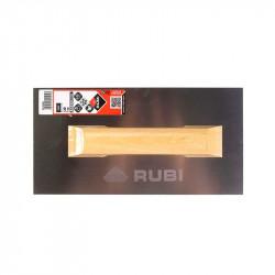 Llana ACERO 30 cm mango madera Rubi