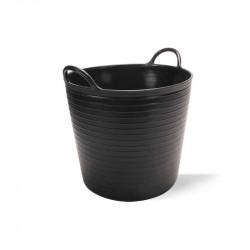 Capazo plástico Negro N.1 25 L Rubi