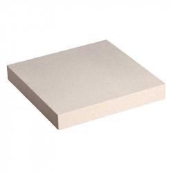 Cubrepilar plano de 50x50 cm Blanco