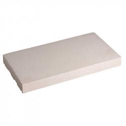 Cubremuros Losa 27,5x50 cm Blanco