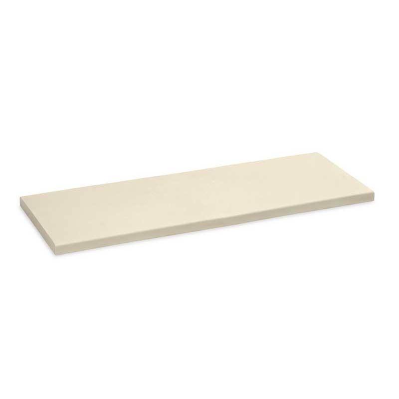 Cubremuros WET-CAST Losa 25cm x 1 m Blanco